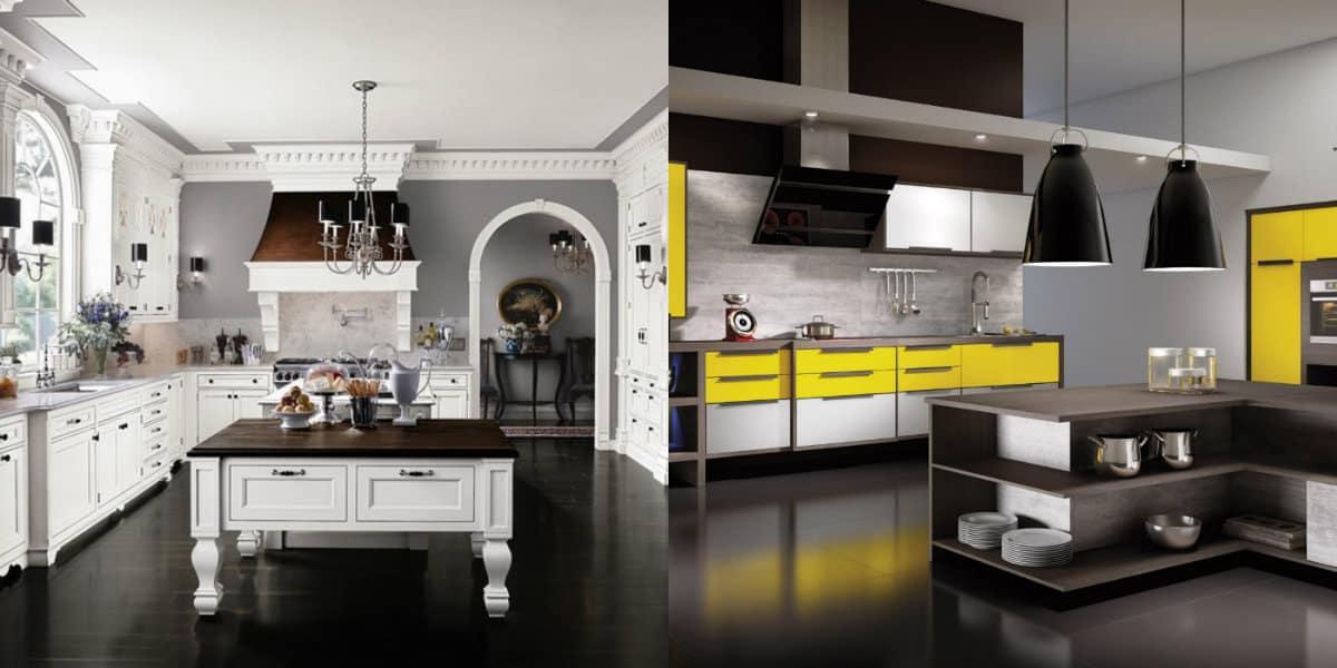 стильная кухня в современном стиле