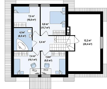 Планировка и стандартные габариты комнат   mebli24