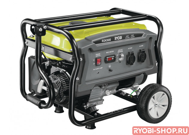 Бензиновые генераторы для дома (электростанции)