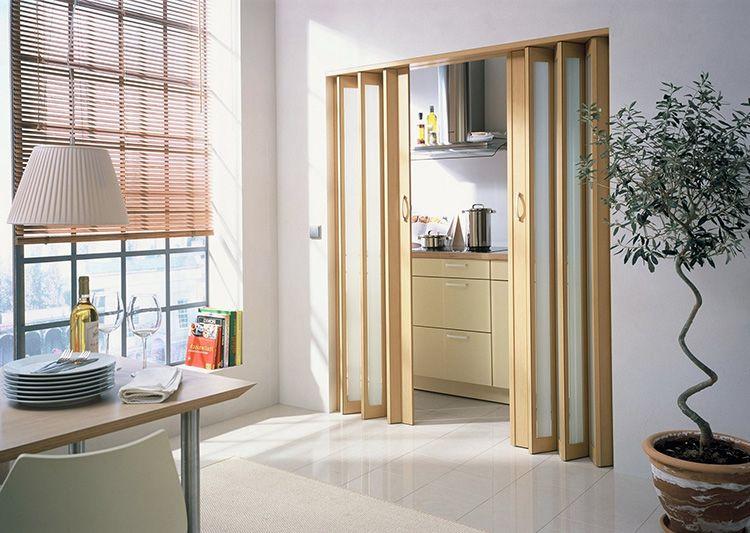 Складывающиеся двери гармошка