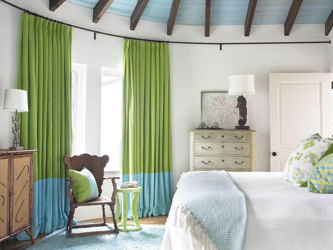 Белые шторы в спальню (120 фото): эксклюзивные варианты дизайна