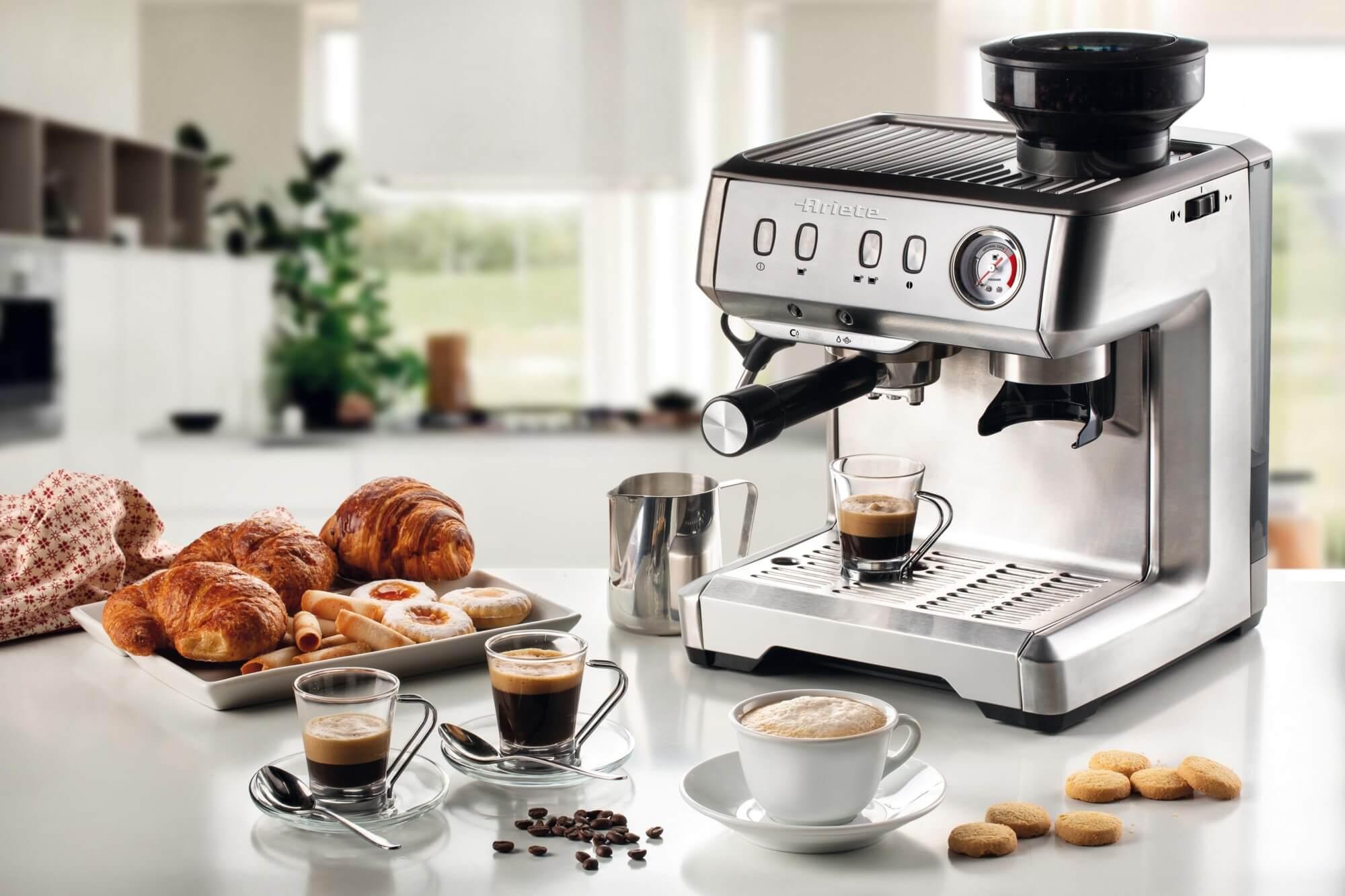 Рожковая кофеварка: принцип работы, разновидности, как выбрать
