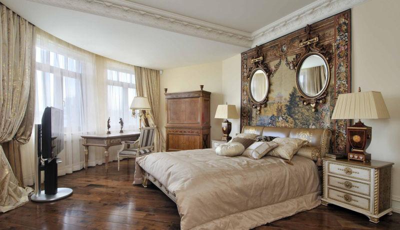 Мебель в стиле ампир, что из себя представляет, материалы изготовления