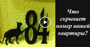 табличка с номером дома и улицей