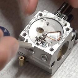 ремонт карбюратора триммера