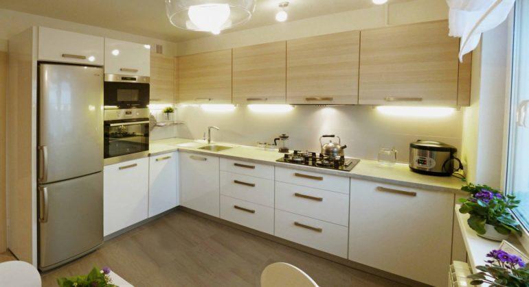дизайн кухни 14 метров