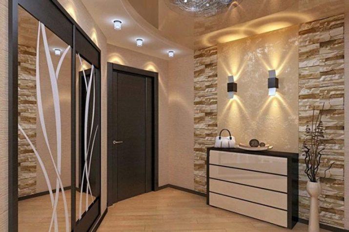 Как оформить стены в коридоре (прихожей): варианты отделки и дизайна