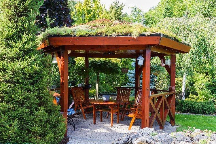 Садовая беседка: 245+ (фото) красивых вариантов своими руками