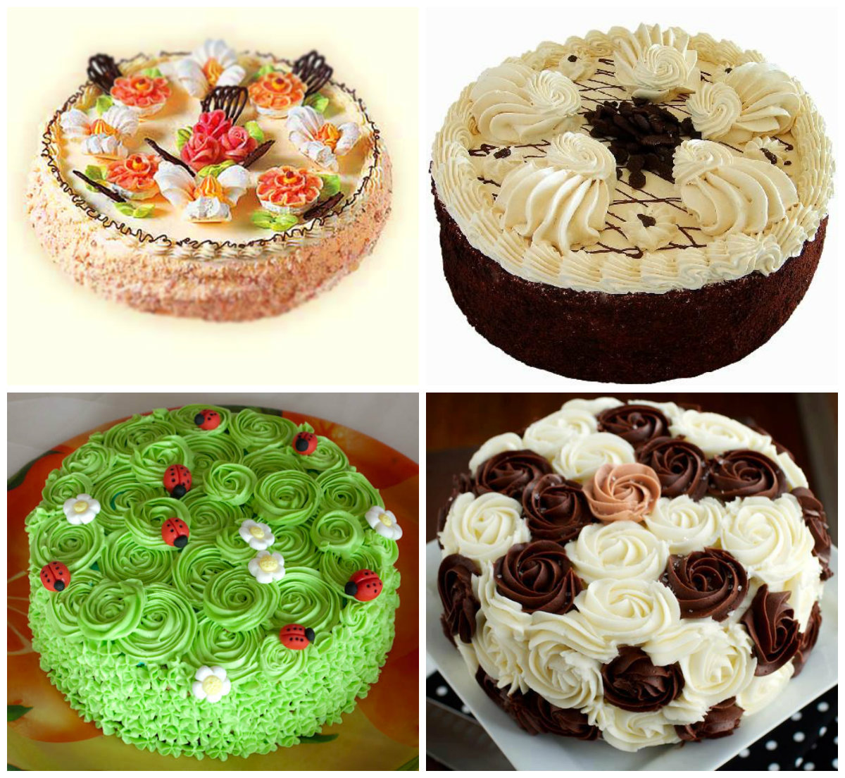 Как украсить новогодний торт 2021 в домашних условиях, фото фоторецепт.ru