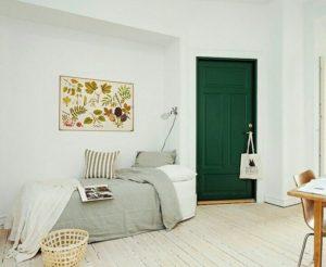Межкомнатные двери в интерьере квартиры: материалы, цвет, фото