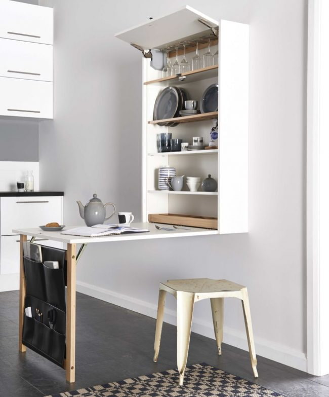 Стол для маленькой кухни: 50 фото в интерьере, стильные и эргономичные идеи