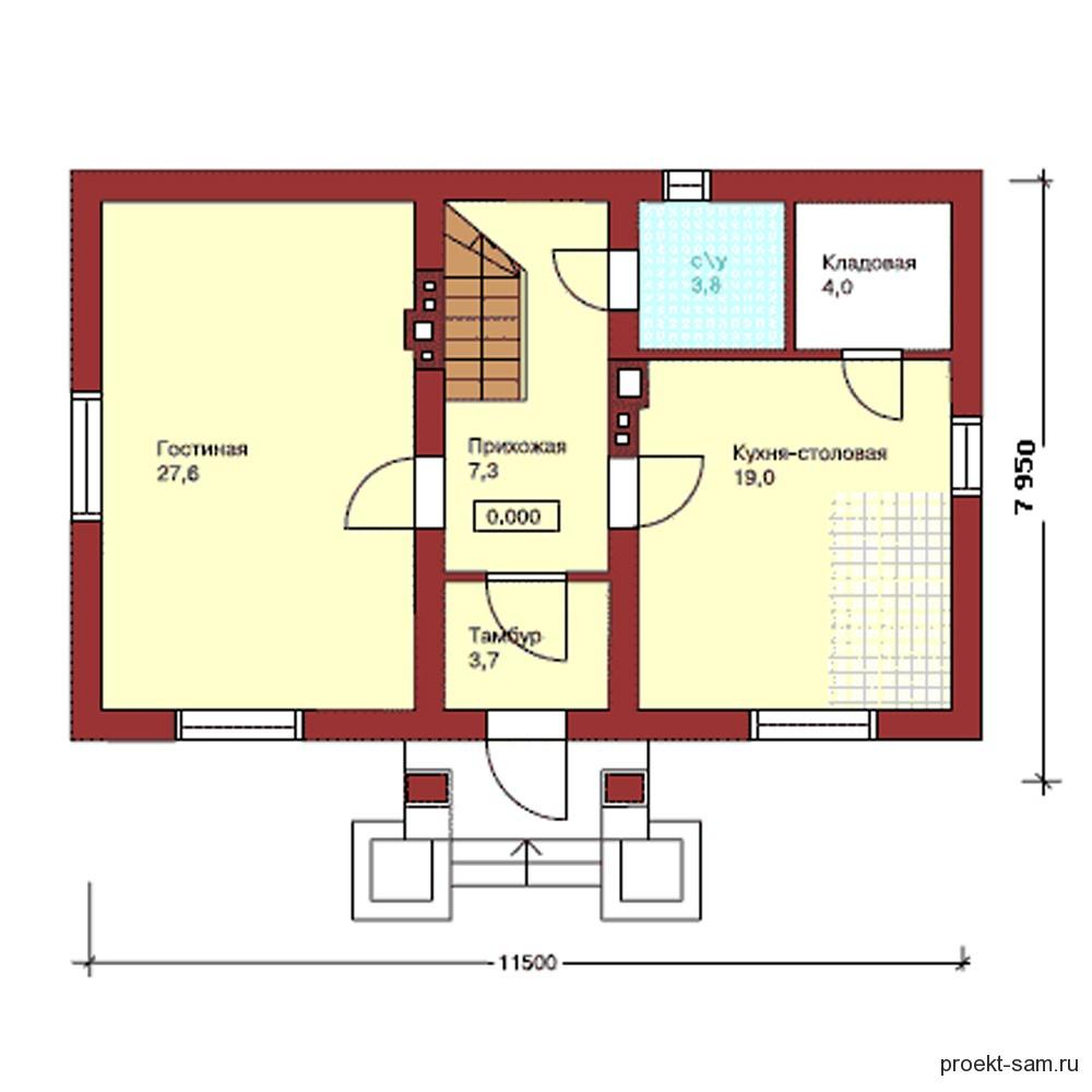 минимальный размер спальни
