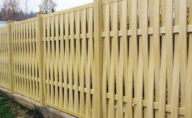 Плетеный забор своими руками – подробная инструкция как сделать и установить плетенку (95 фото)