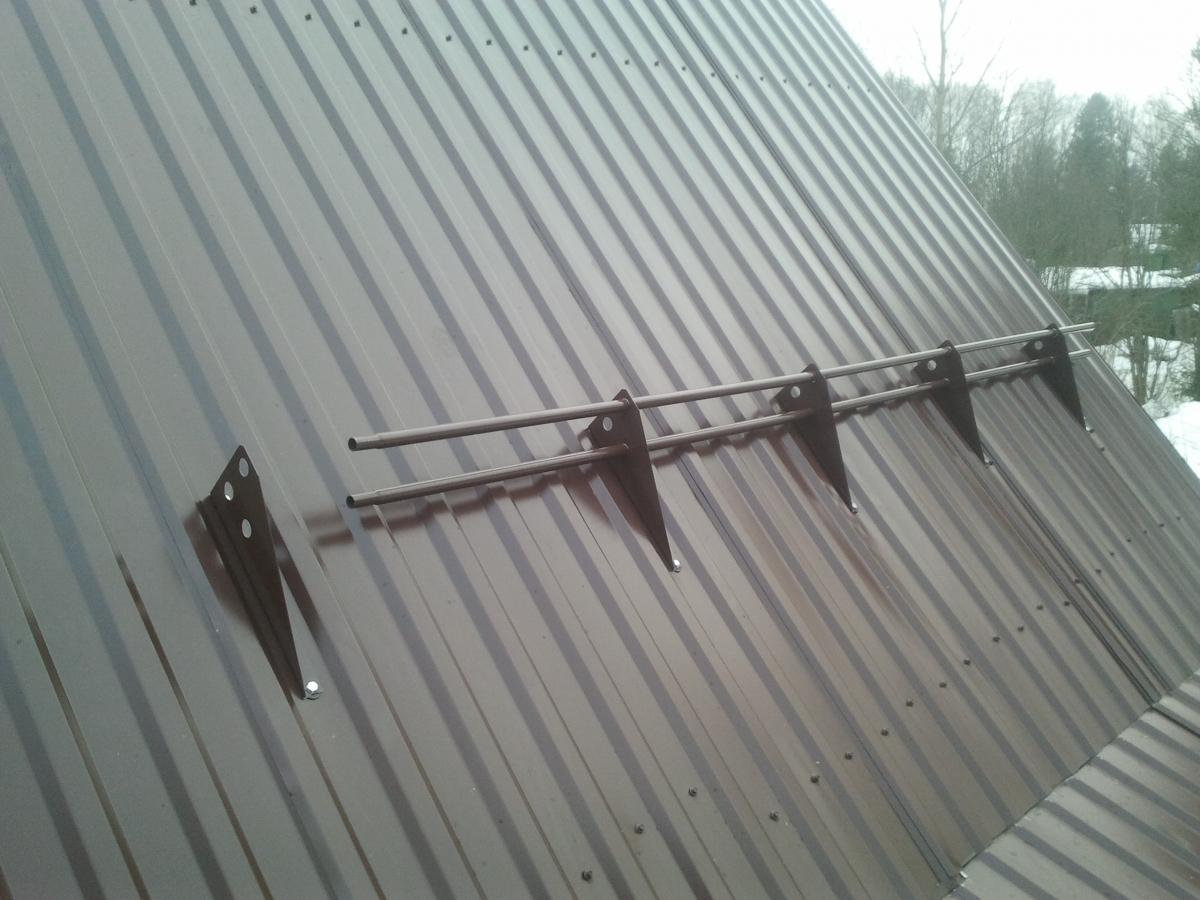 снегоулавливатель на крышу
