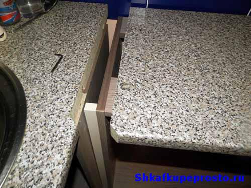 Соединительные планки для столешницы (27 фото): соединение стыковочными профилями 26-38 мм, угловыми и т-образными планками