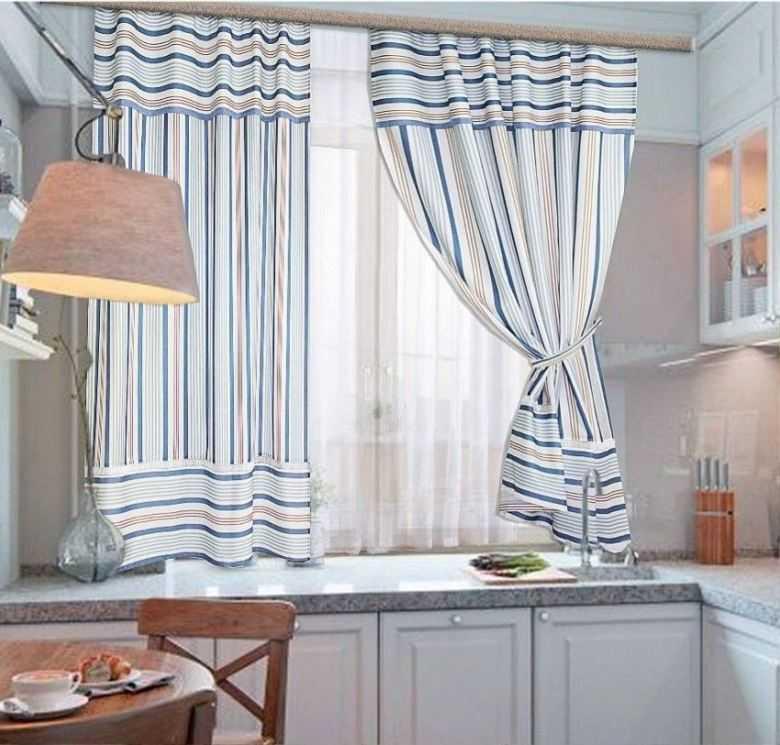 шторы на кухню в современном стиле фото