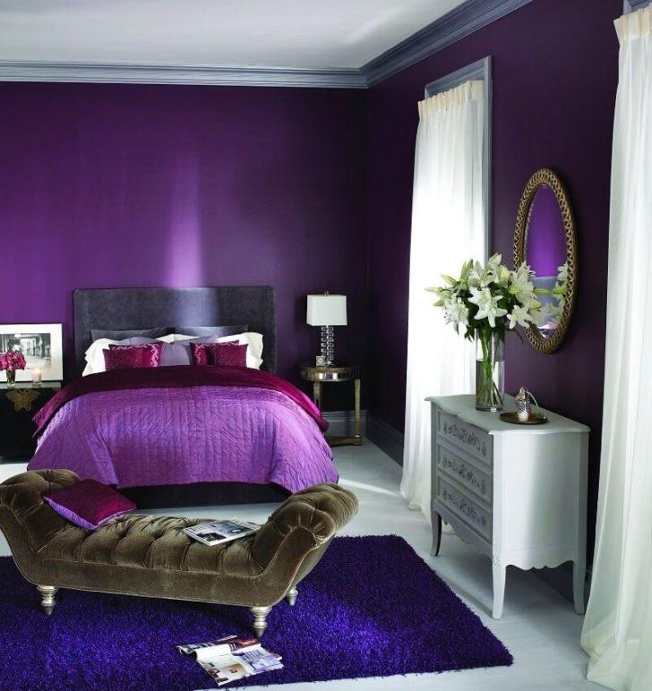Фиолетовый цвет - бог в интерьере - 113 фото примеров