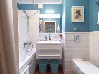 ремонт ванной в хрущевке варианты