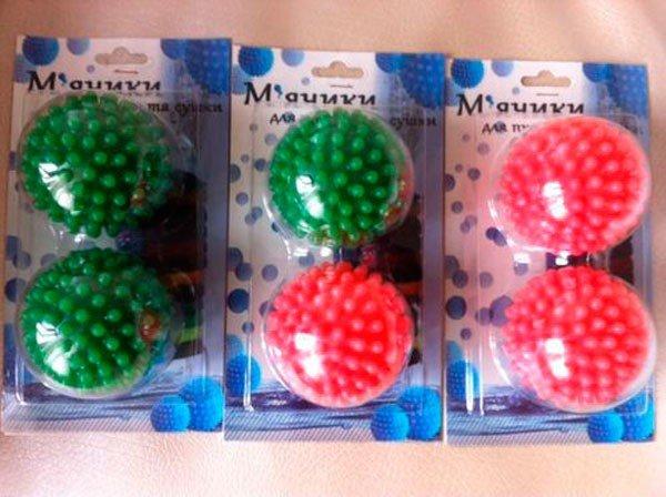 шарики для стирки пуховиков в стиральной