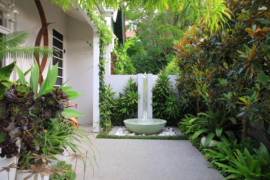 Процедура заливки двора бетоном