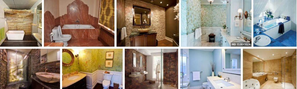 Что можно использовать для стен в ванной вместо плитки — альтернативные варианты (фото, видео)