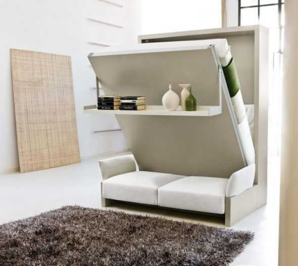 Мебель для малогабаритной квартиры: обзор популярных моделей
