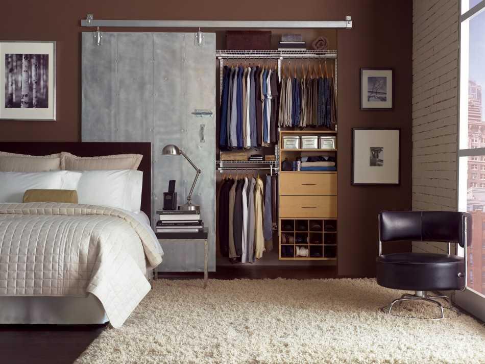 Шкаф-купе в спальню: дизайн на 75 фото