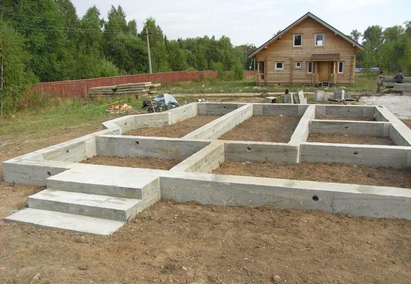 фундамент для одноэтажного дома из газобетона