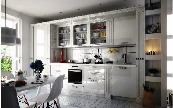 кухни прямые фото