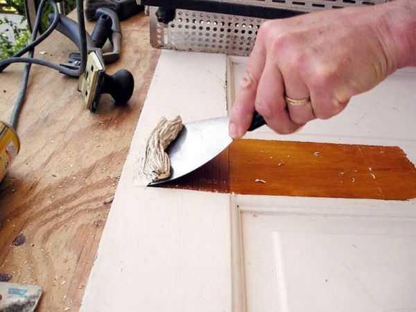 Как убрать старую краску с деревянной поверхности быстро и легко
