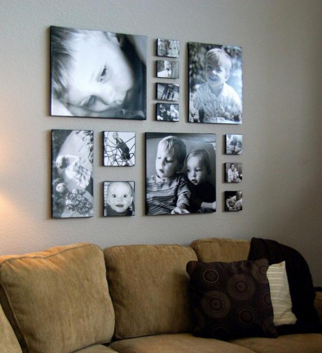 Рамки для фотографий на стену: как использовать для украшения интерьера
