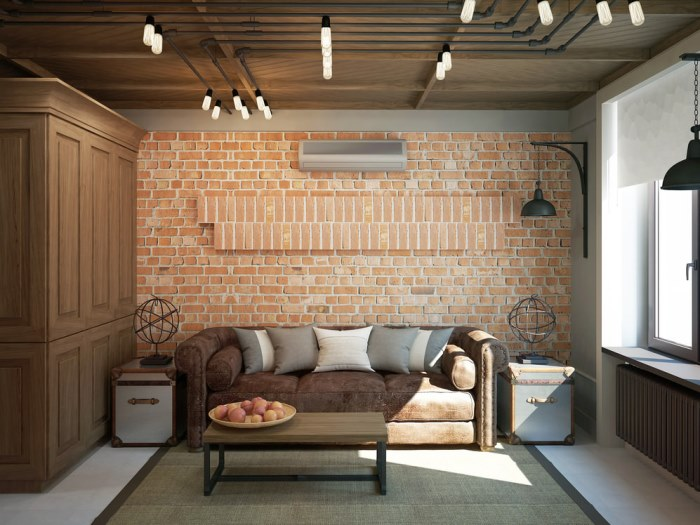 Потолок в стиле лофт: высокий натяжной или бетонный, как сделать в квартире своими руками, отделка, трубы или деревянные балки на кухне, фото с примерами