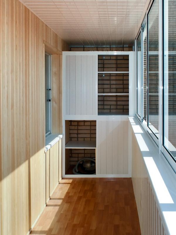 шкаф на балкон варианты