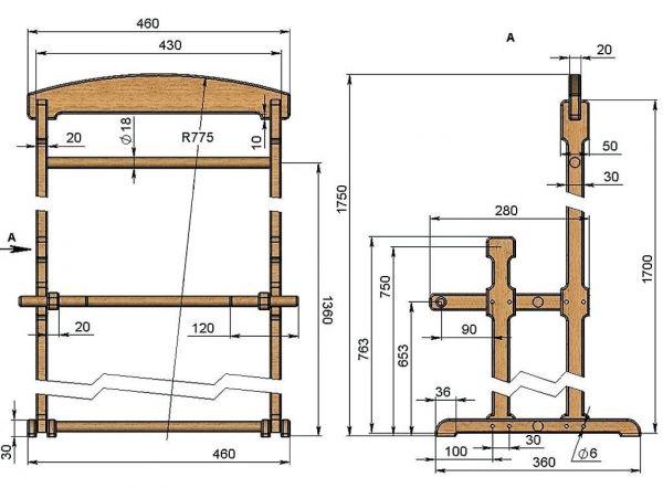Гост 13025.1-85 мебель бытовая. функциональные размеры отделений для хранения (с изменениями n 1, 2, 3)