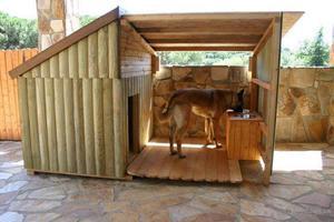 Как построить будку для немецкой овчарки своими руками?