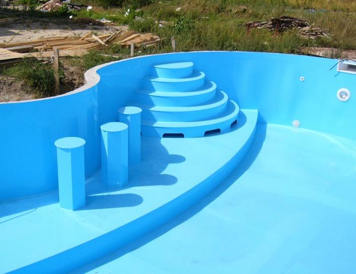 Бассейн на даче: каркасный, стационарный, лучшие идеи оформления