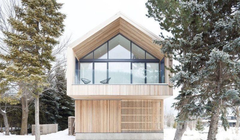 Скандинавский каркасный дом