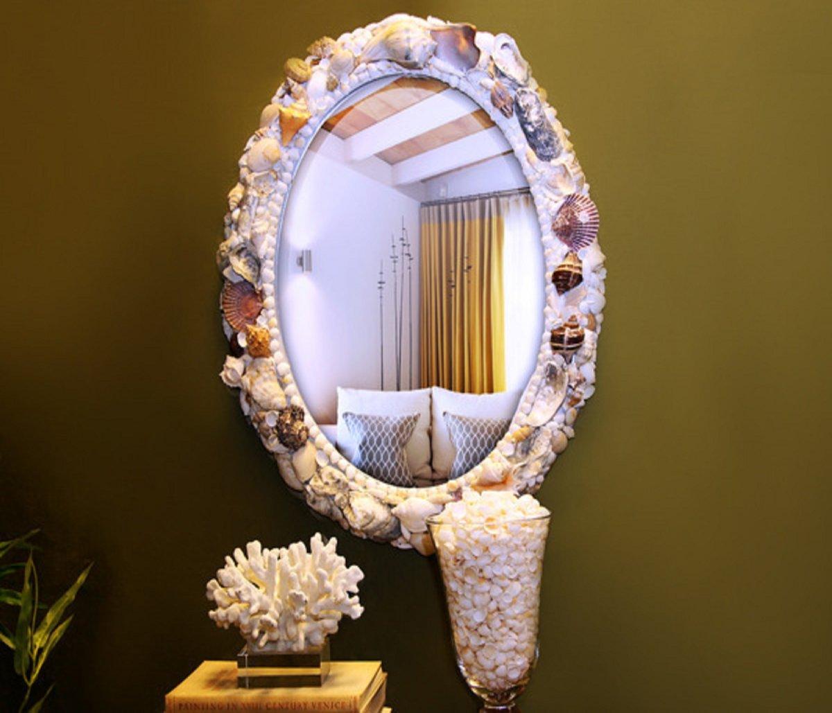 Рама для зеркала своими руками: уникальная отделка при минимальных вложениях