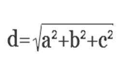 Как рассчитать и вывести диагональ фундамента