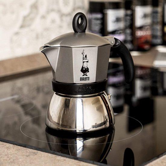 Гейзерная электрическая кофеварка