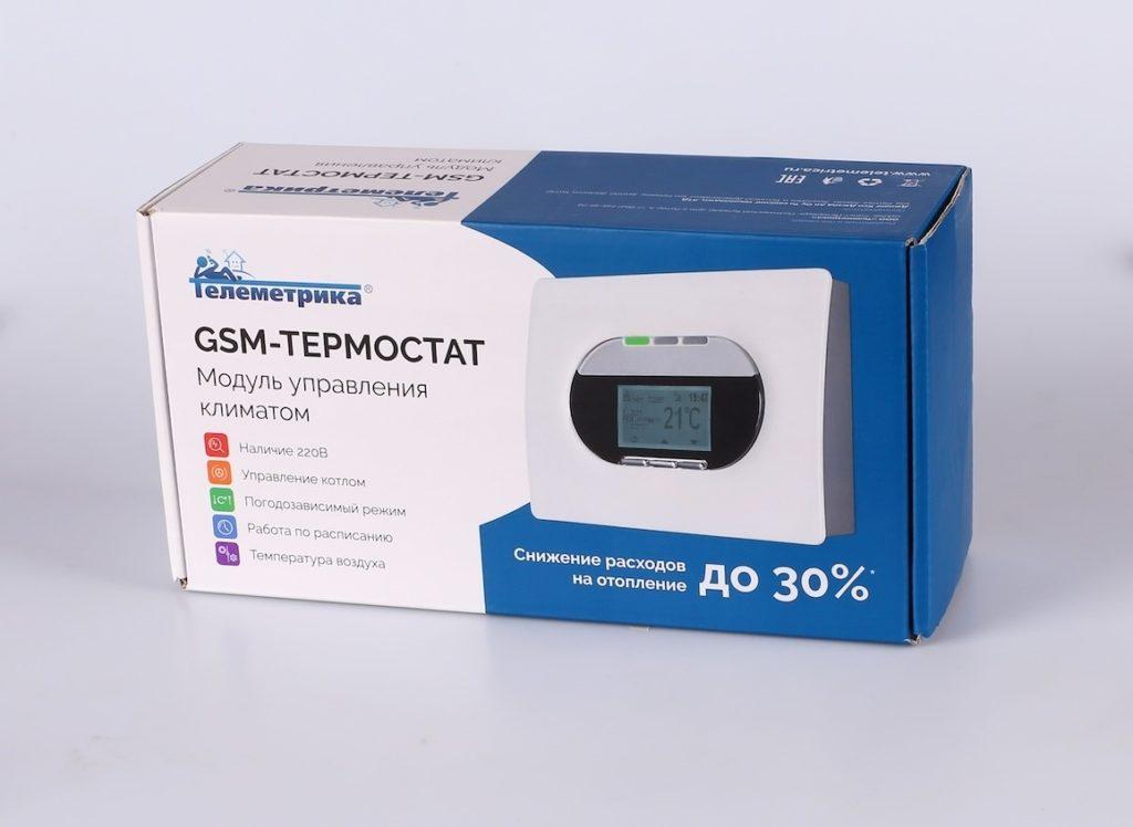gsm модуль управления отоплением