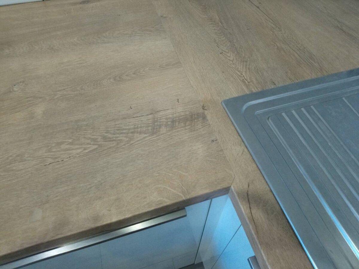 Самостоятельная установка кухонной столешницы – от распила до врезки раковины