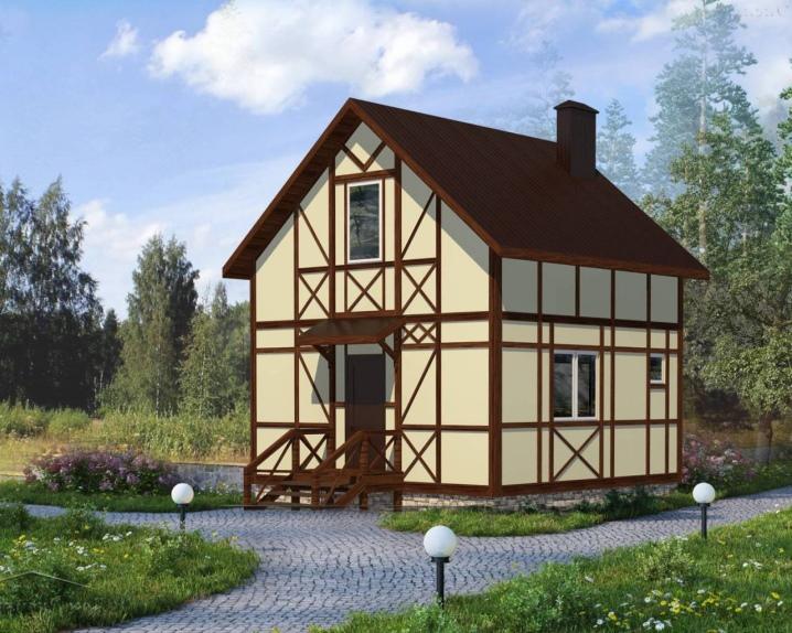 маленькие домики для дачи
