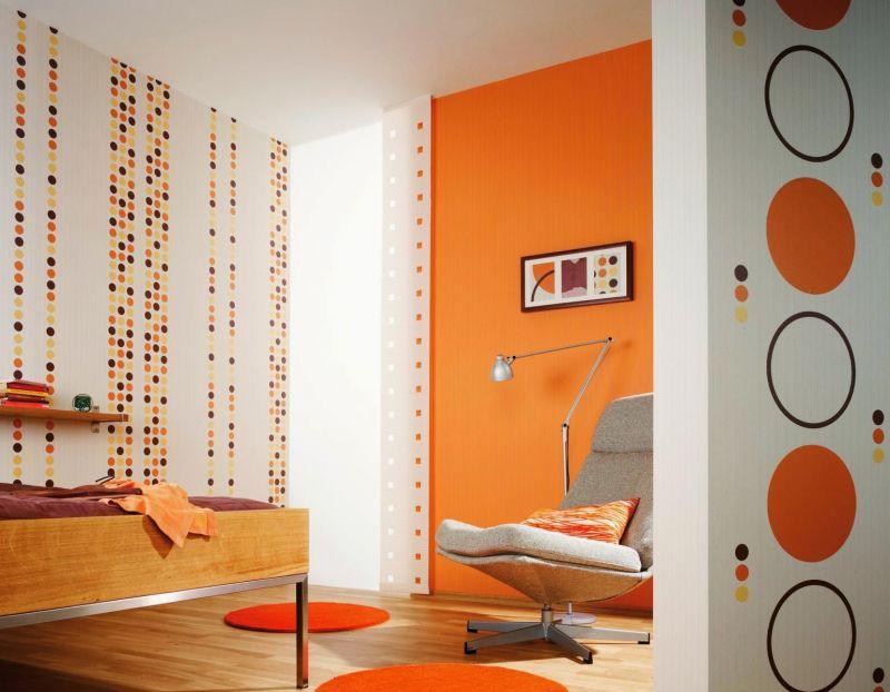 Оранжевая гостиная: полезные советы по отделке и оформлению