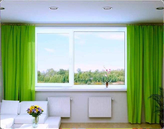 Большие окна в частном доме: тонкости стеклянного оформления