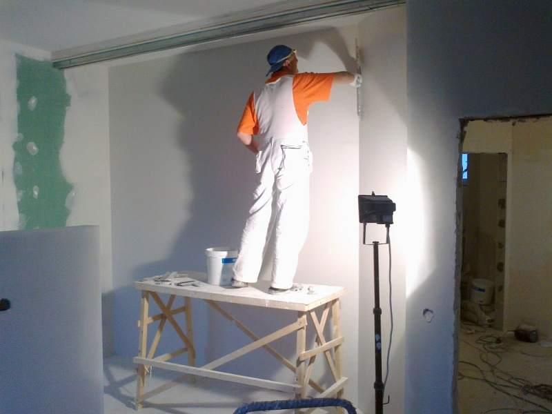 что нужно для покраски стен