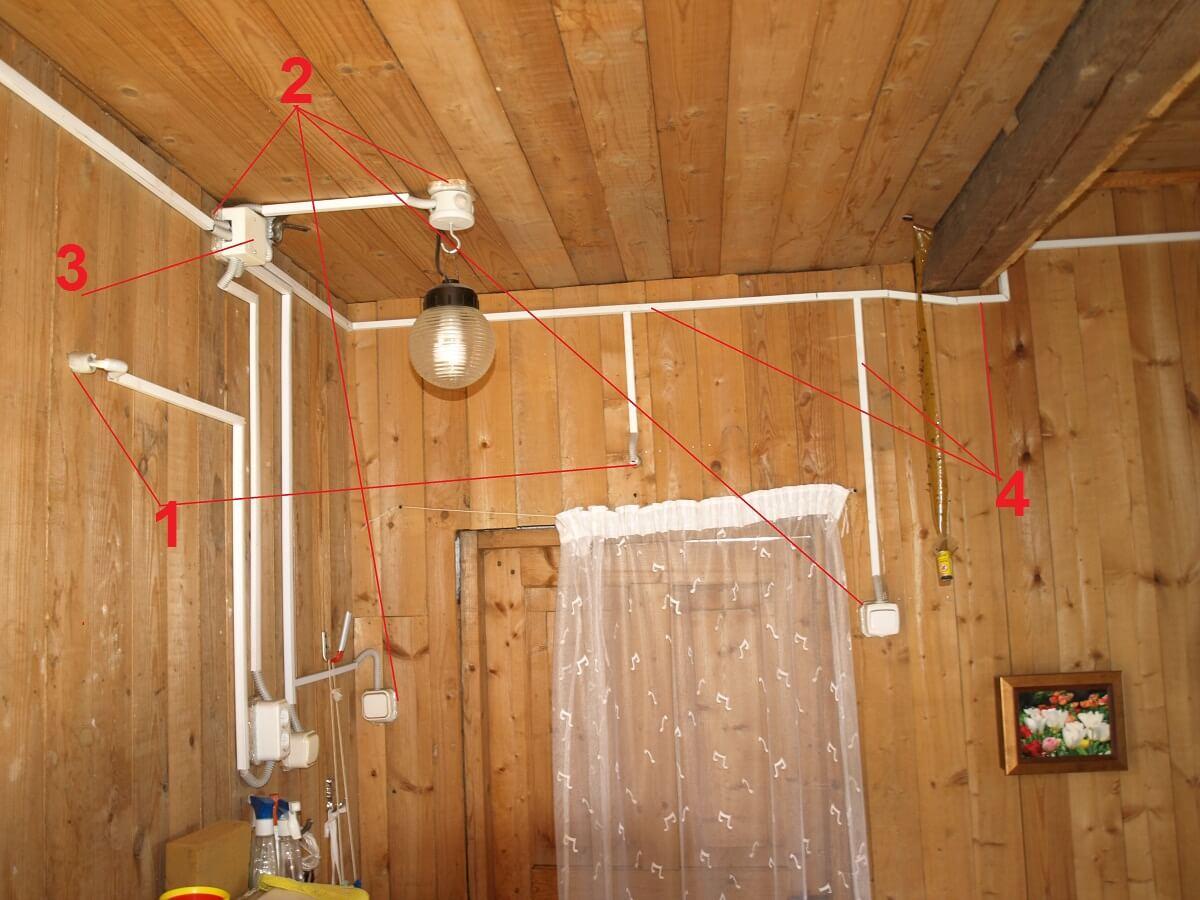 Схема электропроводки в частном доме: типовые схемы и правила проектирования