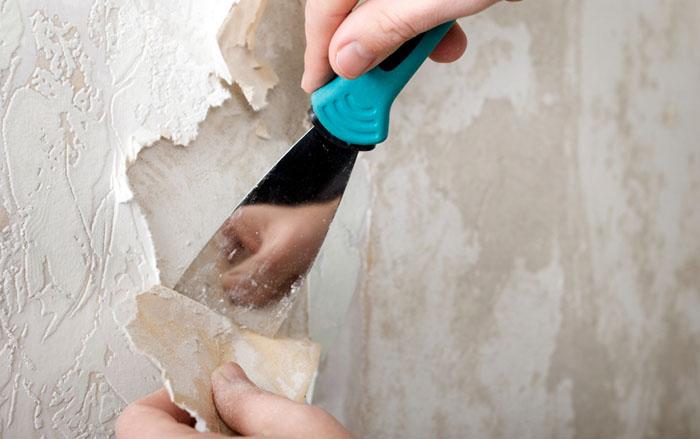 Как снять флизелиновые и виниловые обои со стен быстро