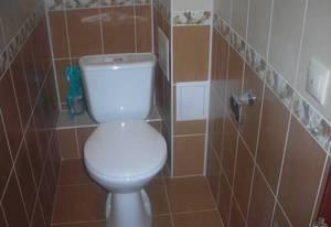 Как спрятать трубы в туалете?