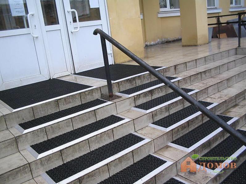 Коврики для лестницы на липучках - всё о лестницах